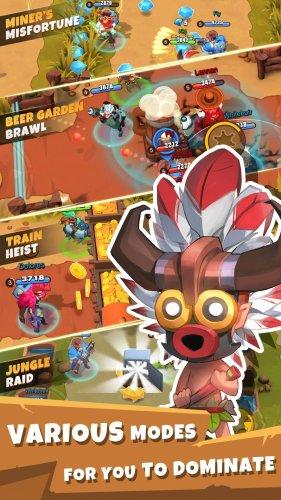 Скриншот для West Legends: 3v3 Team Battle - 3
