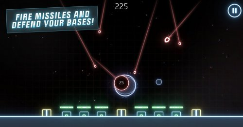 Скриншот для Missile Command: Recharged - 1