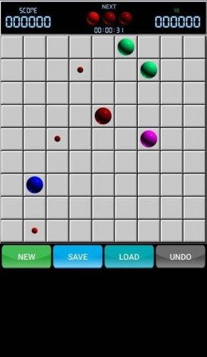 Скриншот для Line 98 Original - Color Lines - 2