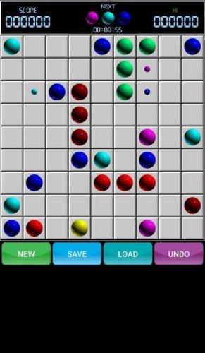 Скриншот для Line 98 Original - Color Lines - 1