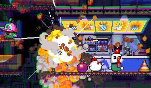 Скриншот для Bomb Chicken - 1