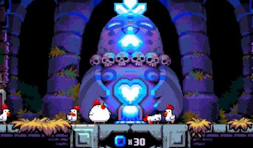 Скриншот для Bomb Chicken - 3