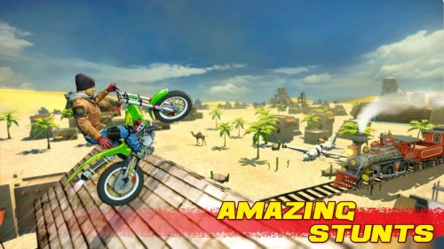 Скриншот для Bike Stunt 2 - 2