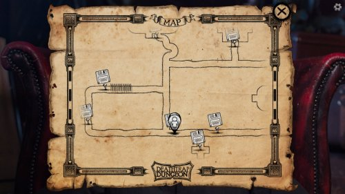 Скриншот для Deathtrap Dungeon: The Interactive Video Adventure - 3