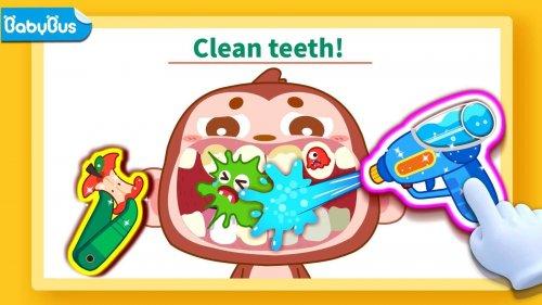 Скриншот для Маленькая панда: уход за зубами - 1