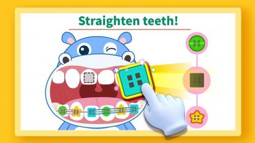 Скриншот для Маленькая панда: уход за зубами - 3