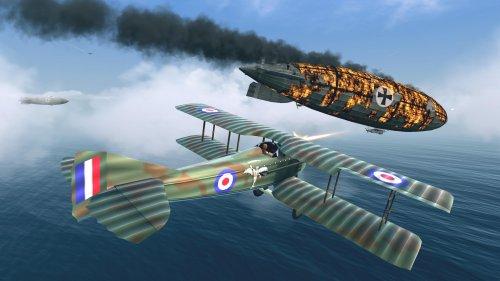 Скриншот для Warplanes: WW1 Sky Aces - 2
