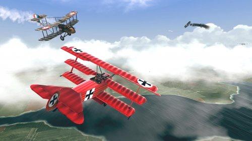 Скриншот для Warplanes: WW1 Sky Aces - 1