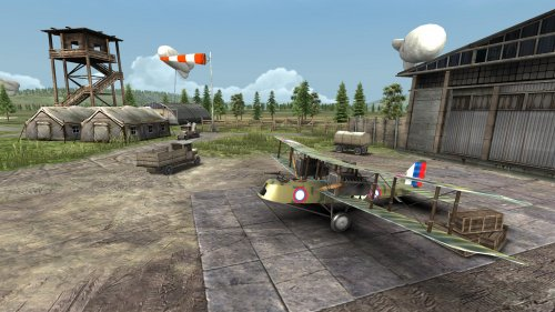 Скриншот для Warplanes: WW1 Sky Aces - 3