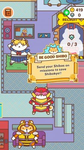 Скриншот для Shiba Force - 1