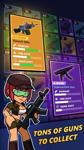 Скриншот для Zombie Idle Defense - 1