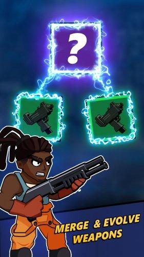 Скриншот для Zombie Idle Defense - 3