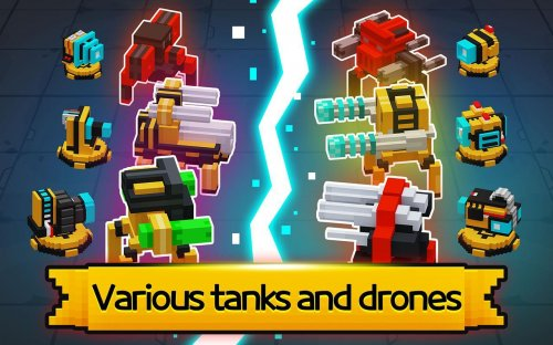 Скриншот для Mecha Tank Arena - 2