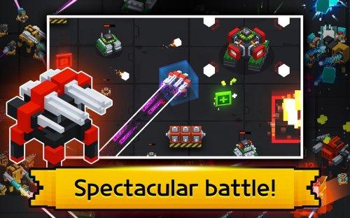 Скриншот для Mecha Tank Arena - 1