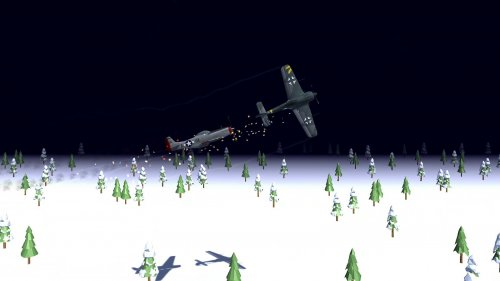 Скриншот для Night Fighter: WW2 Dogfight - 2