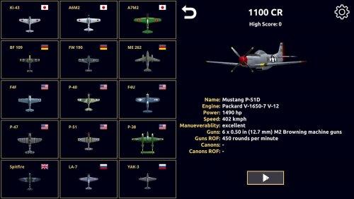 Скриншот для Night Fighter: WW2 Dogfight - 1