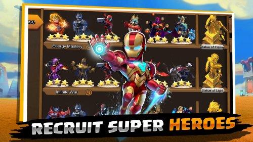 Скриншот для Clash of Kingdoms: Heroes War - 1