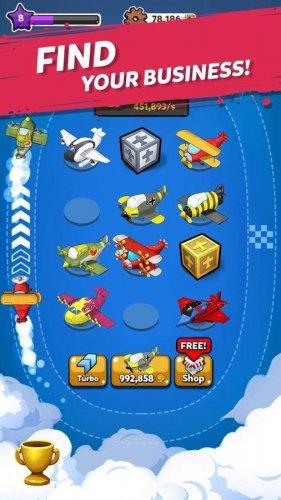 Скриншот для Merge Airplane: Cute - 3
