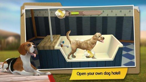 Скриншот для Dog Hotel Premium – Play with cute dogs - 3