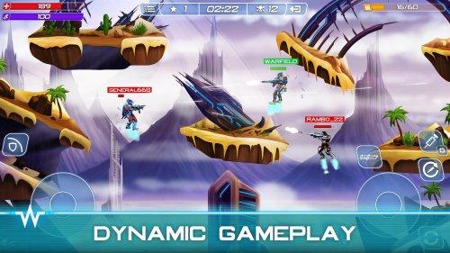Скриншот для Warfield: Tactical Arena Shooter - 3