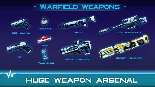 Скриншот для Warfield: Tactical Arena Shooter - 1