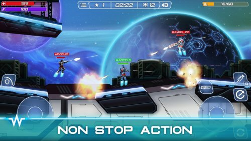 Скриншот для Warfield: Tactical Arena Shooter - 2