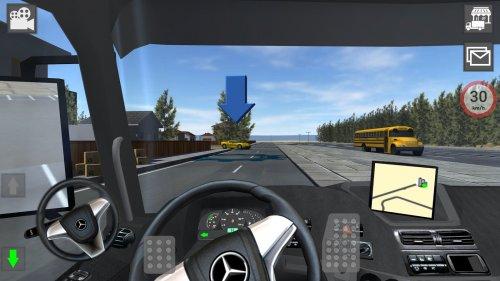Скриншот для Mercedes Truck Simulator Lux - 3