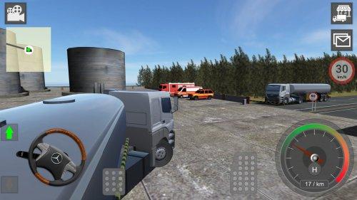 Скриншот для Mercedes Truck Simulator Lux - 2