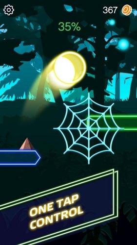 Скриншот для Beat Ball Hop: Jump Hit on Tiles - 2