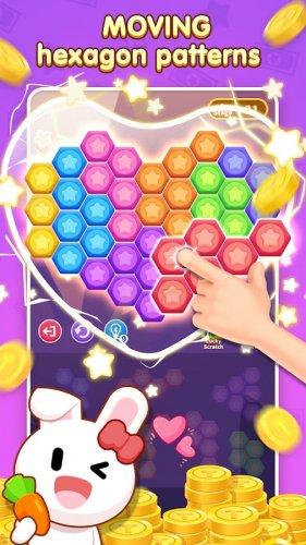 Скриншот для Hexa Puzzle-Classic casual game - 1