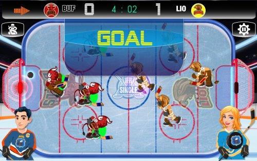 Скриншот для ICE HOCKEY 2D - 4x4 - 3