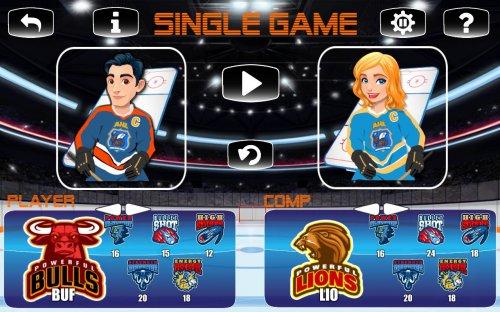 Скриншот для ICE HOCKEY 2D - 4x4 - 2