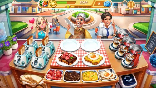 Скриншот для Cooking City - 2