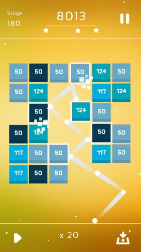 Скриншот для Bricks Breaker Quest - 2