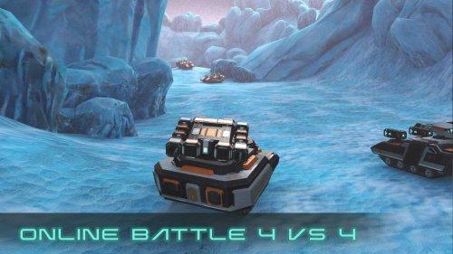 Скриншот для Clash of Tanks: Mech Battle - 2