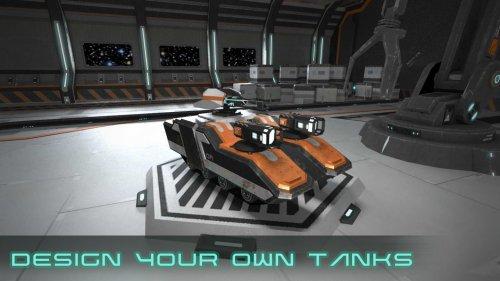Скриншот для Clash of Tanks: Mech Battle - 1