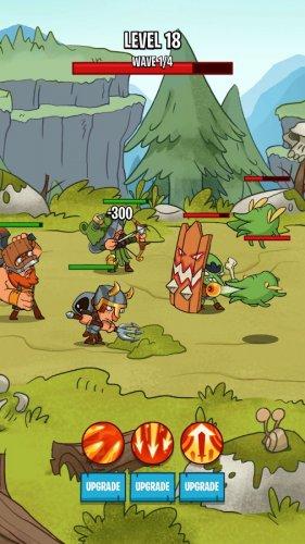 Скриншот для Semi Heroes 2: Endless Battle - 1