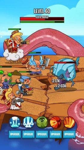Скриншот для Semi Heroes 2: Endless Battle - 2