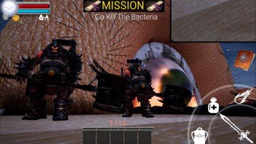 Скриншот для Virus simulation - 3