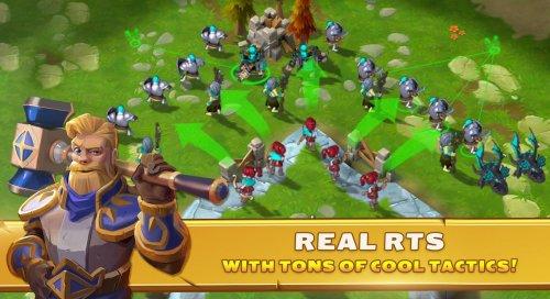 Скриншот для Clash of Legions - 2