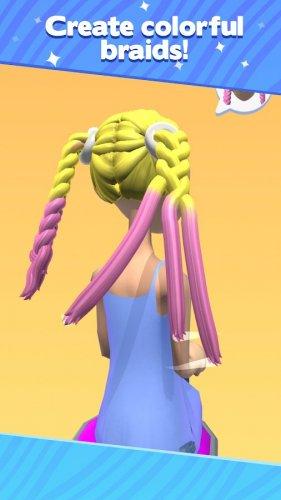 Скриншот для Салон косичек - 3