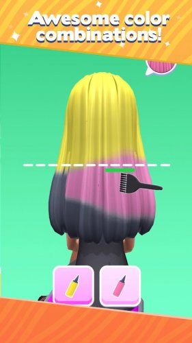 Скриншот для Салон косичек - 2