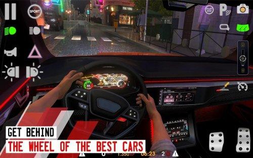 Скриншот для Driving School Sim - 3