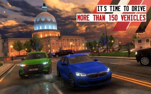 Скриншот для Driving School Sim - 1