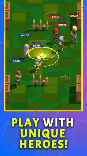 Скриншот для Crown Battles – Multiplayer 3vs3 - 2
