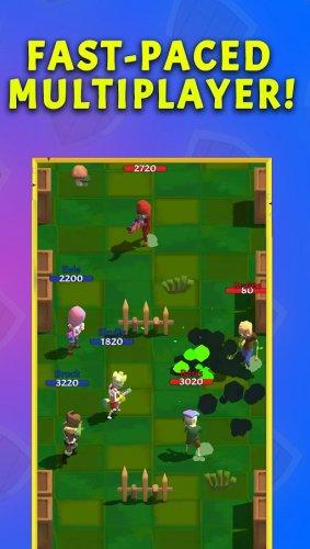 Скриншот для Crown Battles – Multiplayer 3vs3 - 1