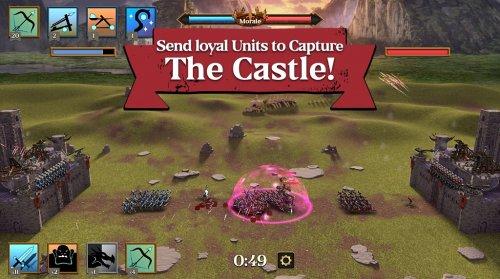 Скриншот для Arrow Master: Castle Wars - 2