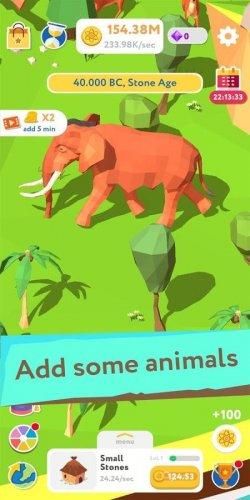 Скриншот для Evolution Idle Tycoon - 3