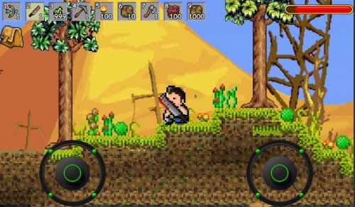 Скриншот для Pocket Craft Miner - 1