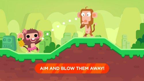 Скриншот для Monkey Attack: War Fight - 2